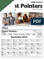Calendar High English