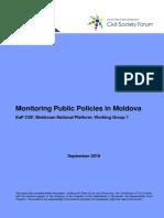 Monitoring Moldova