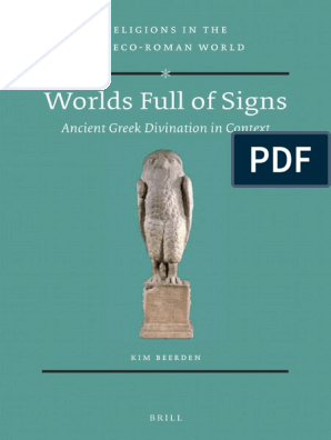Worlds Full Of Signs Ancient Greek Divination In Contextpdf