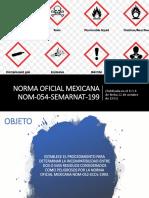 Norma Oficial Mexicana Nom 054 Semarnat 1993