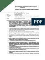 ANEXO N° 2  INFORME N° DEL SUPERVISOR -