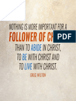 Follower of Christ