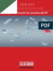 Informe Inicio Curso 2018/2019