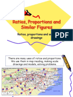 Ratios, Proportions and Similar Figures
