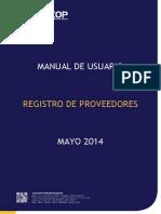MANUAL DE CONTRATACION PUBLICA REGISTRO DE PROVEEDORES