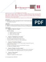 Plan Formation Gestion Projet