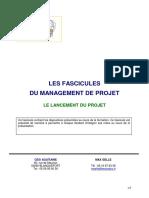 Fascicule Formation Le Lancement Du Projet