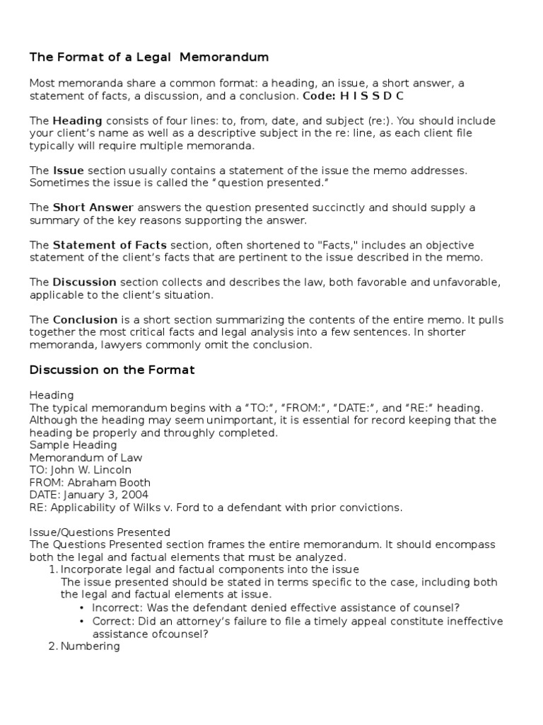 Basic Legal Memo for Law Students | Robbery | Adverse Possession