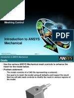 Mech-Intro 13.0 WS04.1 Meshing