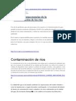 Contaminaciòn de Los Rios