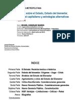 Estado, Estado del Bienestar, Teorías Políticas, Crisis y Nueva Gestión Pública (Miguel González Madrid 2014)
