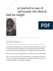 Settlement reached in case of Broward jail inmate who died at half his weight 8.25.15.pdf