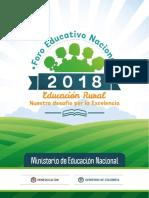 DOCUMENTO ORIENTADOR FORO EDUCATIVO RURAL 2018 (1).pdf