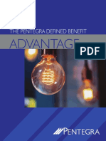 Pentegra Defined Benefit Plan Advantage