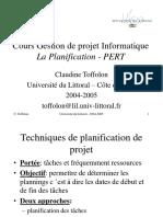 Planification Gestion Projet Pert 2