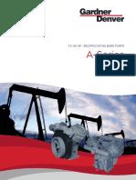 A Series Air Cooled and Vacuum Pump Brochure