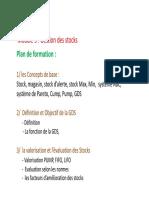 Support de Cours Gestion Des Stocks