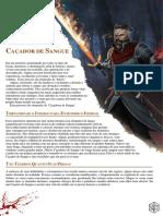 D&D 5E - Caçador de Sangue (Blood Hunter) - Biblioteca Élfica