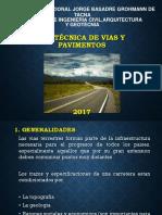CLASE N°01 CONCEPTOS GENERALES, TIPOS Y ESTRUCTURA DE PAVIMENTOS