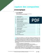 A 7755 - Critères de Rupture Des Composites - Approche Macro