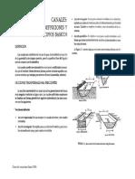 9 Conceptos de Flujo en Canales Abiertos Flujo Uniforme Ecc Maning Seccion Optima Energia Especifica Numreo de Froude Resalto Hidraulico CAPITULO 4 DEL CURSO de HIDRAULICA