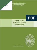 Manual Nomenclatura 2014
