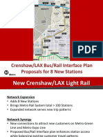 Crenshaw/LAX Line bus changes