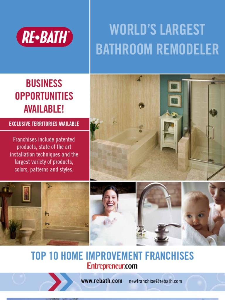Rebath Domestic   Franchising   Bathroom