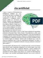 Inteligência Artificial – Wikipédia, A Enciclopédia Livre
