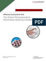 The Online Pharmaceutical Information Seeking Landscape