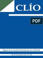 Revista Clío, Año 84 • Enero-junio de 2015 • No. 189