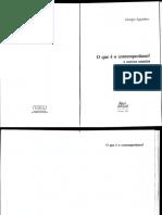 AGAMBEM - o que e contemporaneo.pdf