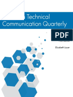 Technical Communication Quarterly - White Paper