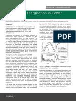 TI 568 Transformer Energisation