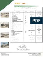 Postes Fabinco Especificaciones Técnicas