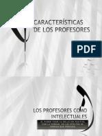 Características de Los Profesores