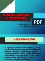 1. O Y M. Presentación 2018
