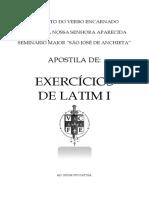 Exercícios de 1 à 12