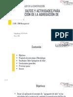 Flujo de Información Actividades y Datos LEAN BIM