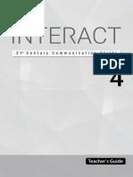 Interact Teacher's Guide Level 4