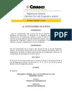 REGLAMENTO DE LA LEY DE SERVICIO CIVIL DEL ORGANISMO jUDICIAL.pdf
