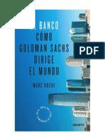 Marc Roche- Cómo Goldman Sachs Dirige El Mundo