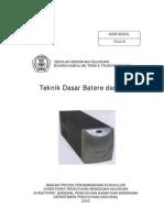 Teknik Dasar Batere Dan Ups