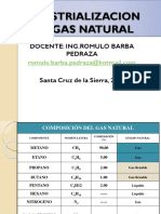 Industrializacion Del Gas Natural(Udabol)