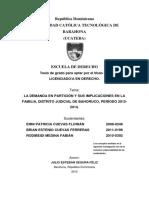 Tesis Demanda en Particion.docx