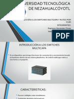 Introducción a Los Switches Multicapa y Ruteo Por Vlan