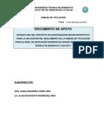 1Estructura Del Proyecto de Investigación (Segunda Etapa)16!12!2017