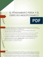 EL PENSAMIENTO PERSA Y EL DERECHO MESOPOTAMICO.pptx