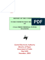 CEA Report Next Higher Size Coal Fired Thermal Power Stations
