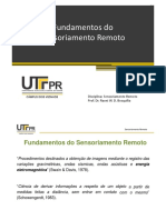 1- Fundamentos Do Sensoriamento Remoto